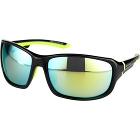 Alpina Lyron Occhiali, black-neon yellow